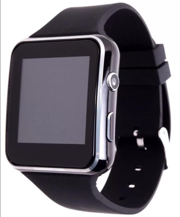 Умные часы ZDK X6 Black (Динамик, Микрофон, SIM, MicroSD, Черные) сотовый телефон senseit t100 black