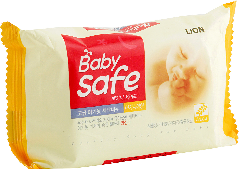 """Мыло для стирки детских вещей Cj Lion """"Baby Safe"""", с ароматом акации, 190 г"""