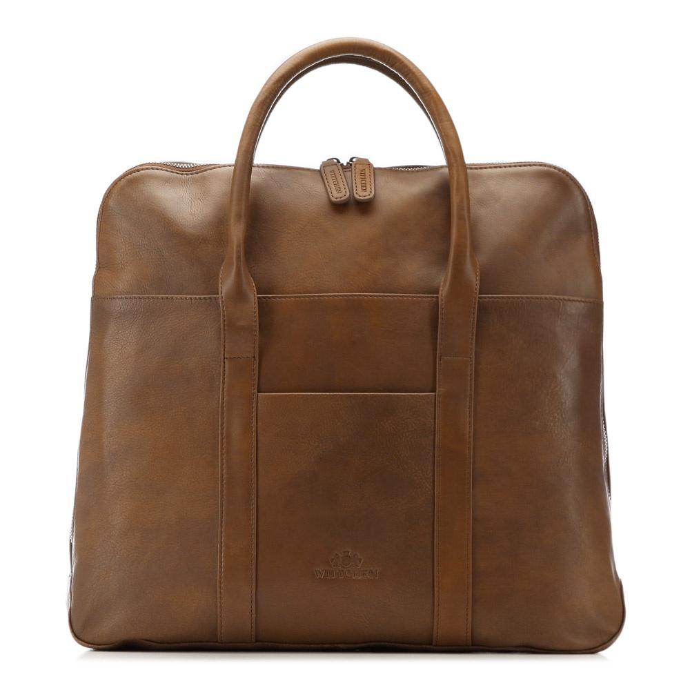 цена Сумка для ноутбука Wittchen 86-3U-507, светло-коричневый онлайн в 2017 году