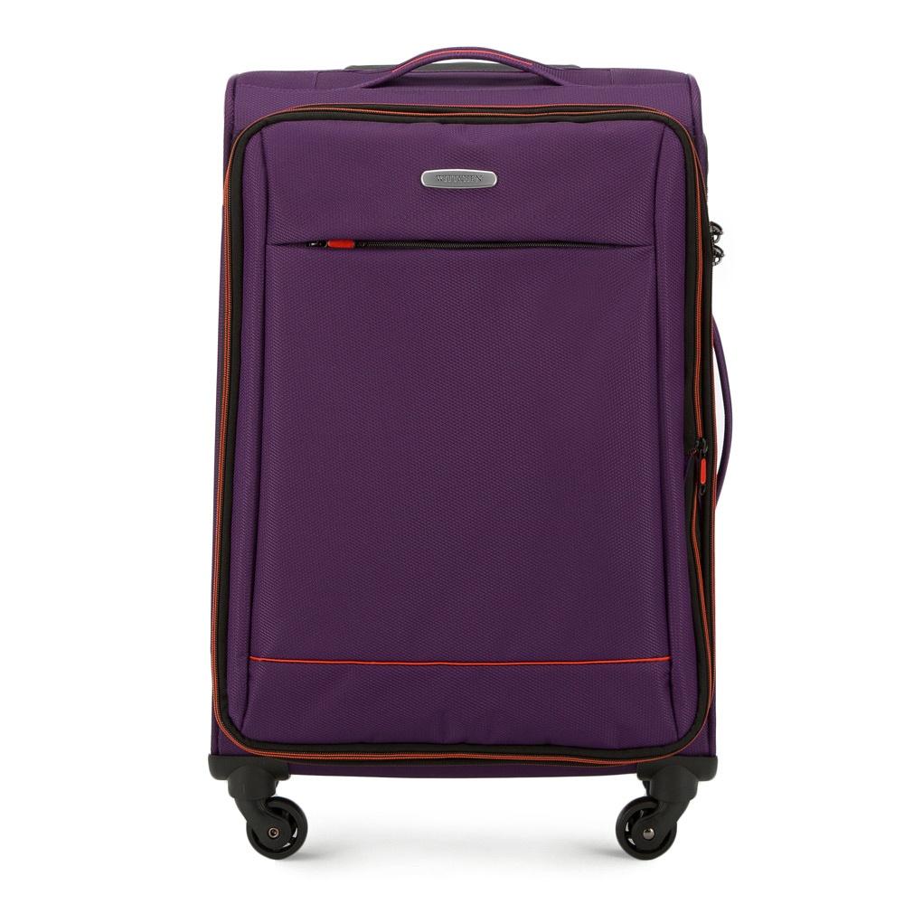 Чемодан Wittchen 56-3S-462, фиолетовый чемодан wittchen 56 3s 631 56 3s 631 13 черный