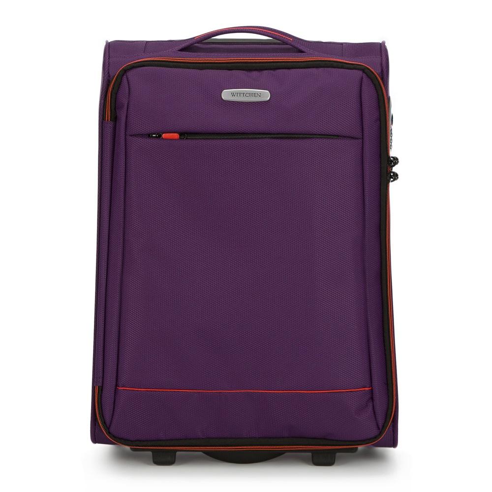 Чемодан Wittchen 56-3S-461, фиолетовый чемодан wittchen 56 3s 631 56 3s 631 13 черный