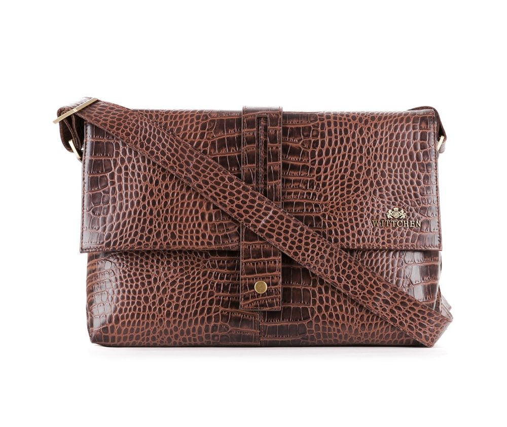 Сумка Wittchen 15-4-328, коричневый сумка wittchen 15 4 062 черный