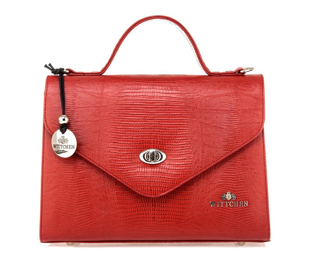 Сумка Wittchen 15-4-063, красный сумка wittchen 15 4 062 черный