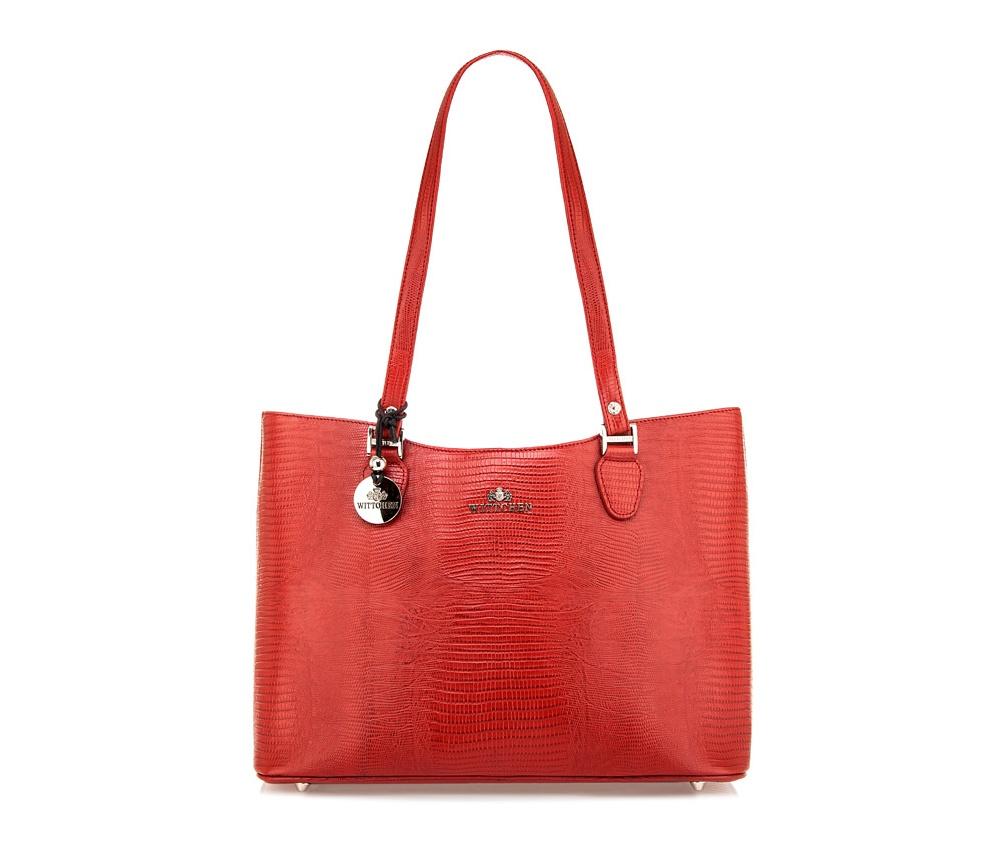 Сумка Wittchen 15-4-064, красный сумка wittchen 15 4 062 черный