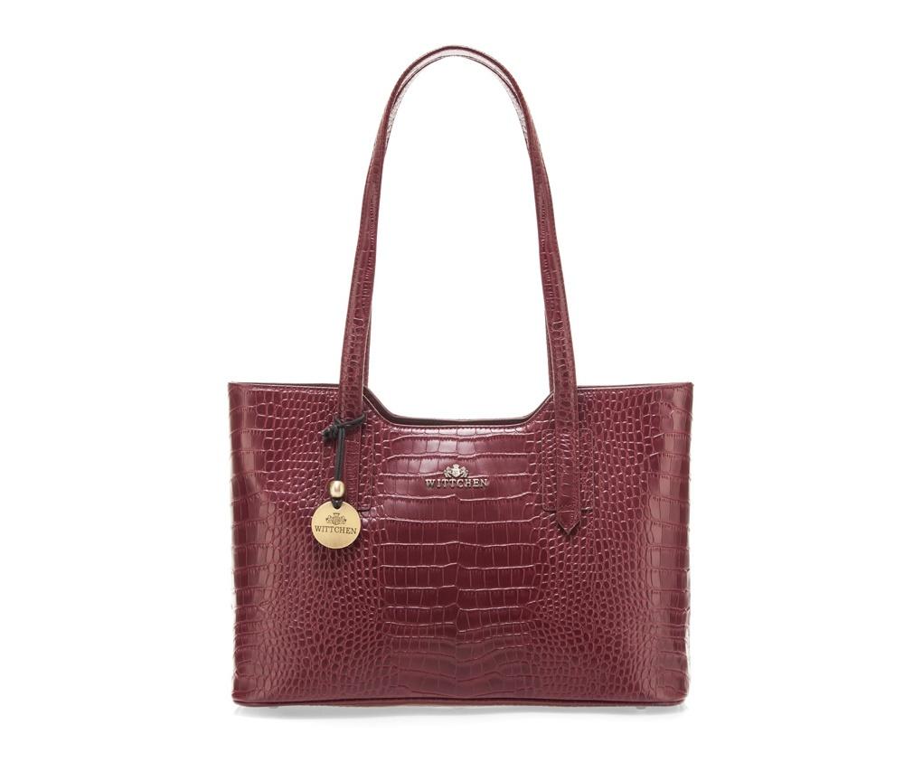 Сумка Wittchen 15-4-056, бордовый сумка wittchen 15 4 062 черный