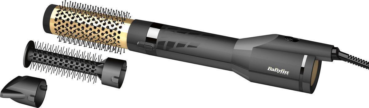 Фен-щетка BaByliss, AS125E, черный