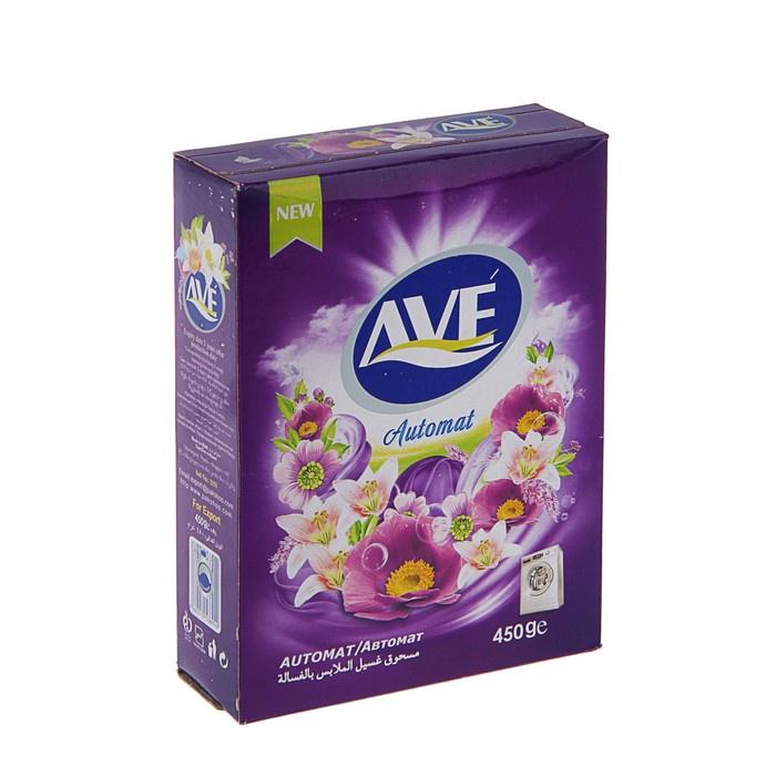 Фото - Cтиральный порошок Ave для всех видов тканей, автомат, 450 г cтиральный порошок ave для ручной стирки 450 г
