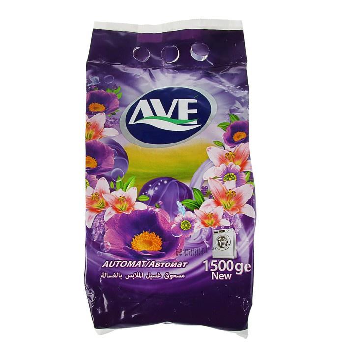 Стиральный порошок AVE для всех видов тканей, 6260010510041, 1.5 кг