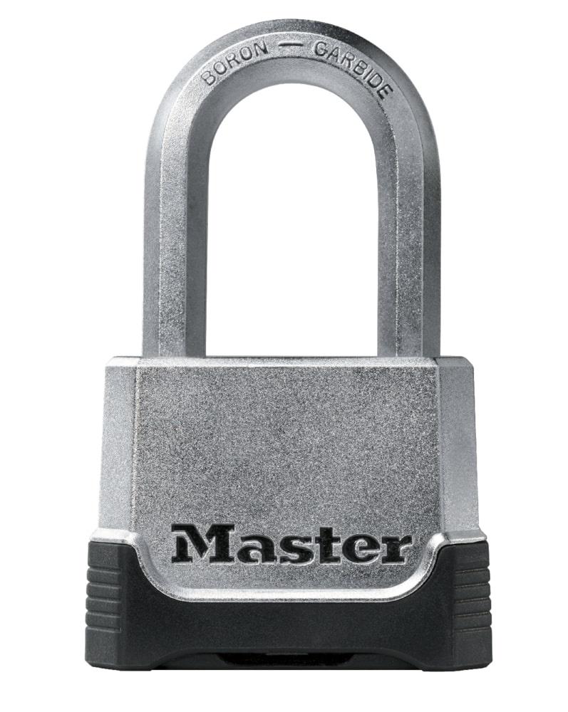 Замок MasterLock навесной Кодовый EXCELL™ A9/B38/C24/W50 цинк+хром/8-бор-ст 2 4ц смен, M175EURDLF замок masterlock навесной excell™ a10 b51 c20 w54 ст 8 бор ст 2 4п 4к m830eurdlh