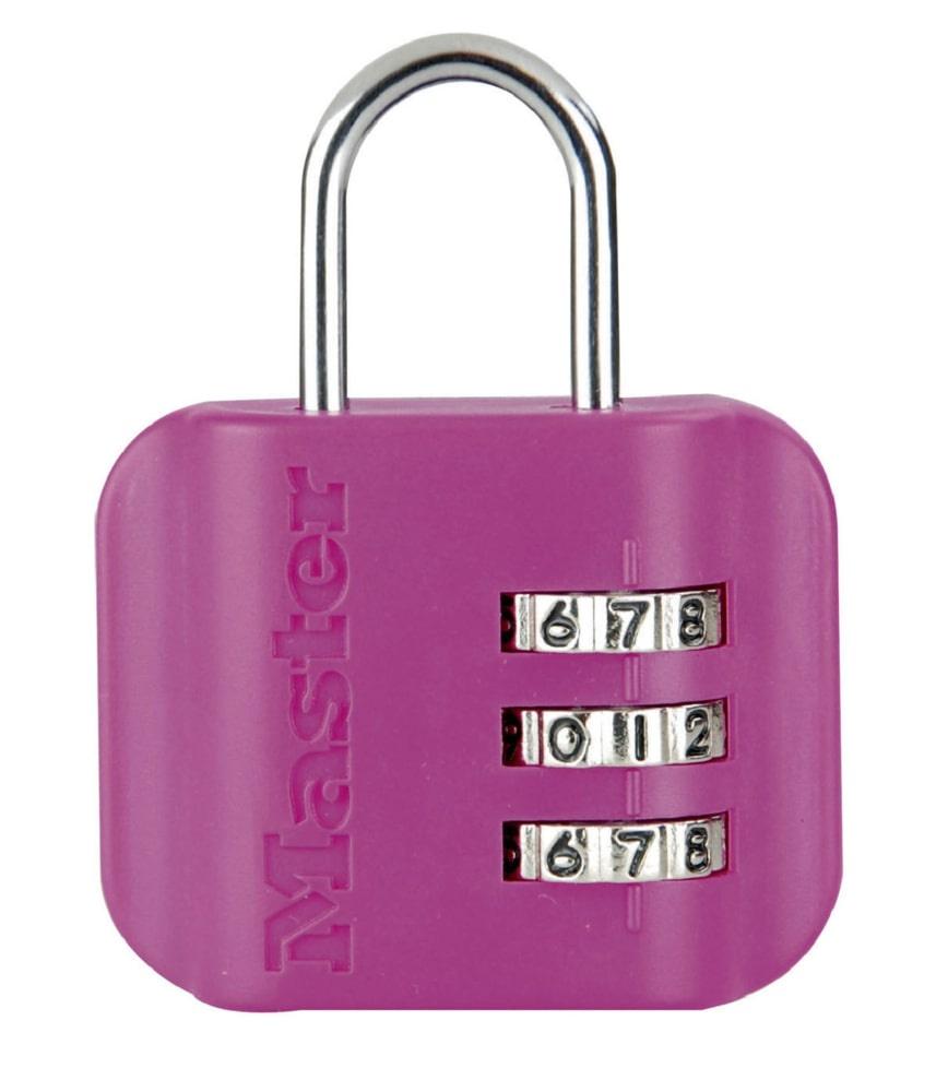 Замок MasterLock Кодовый навесной с биркой A3/B20/C13/W44 пласт/ст 1 3ц смен, 4670EURDCOL замок навесной onguard сталь 35х42мм кодовый