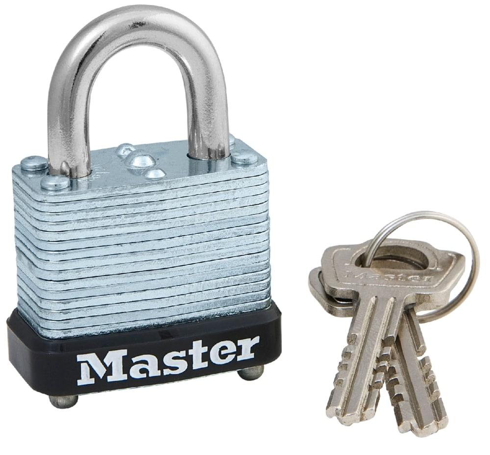 Замок MasterLock Усиленный Навесной A5/B12/C12/W29 лст/ст 2 4п 2к, 105EURD замок masterlock навесной excell™ a10 b51 c20 w54 ст 8 бор ст 2 4п 4к m830eurdlh