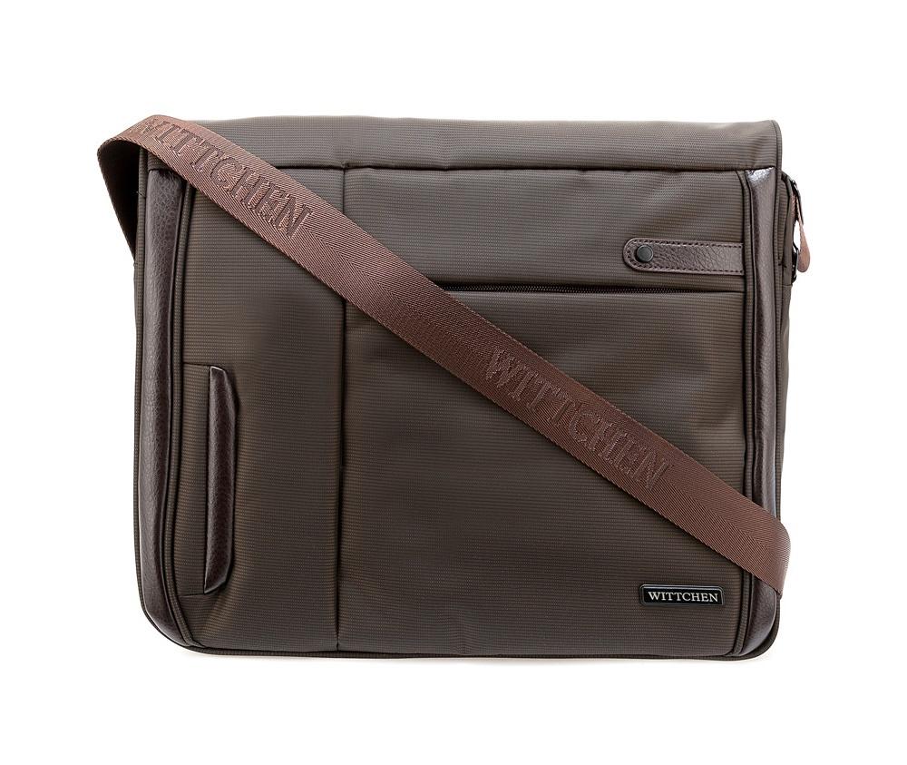 цена Сумка для ноутбука Wittchen 84-3P-101, коричневый онлайн в 2017 году
