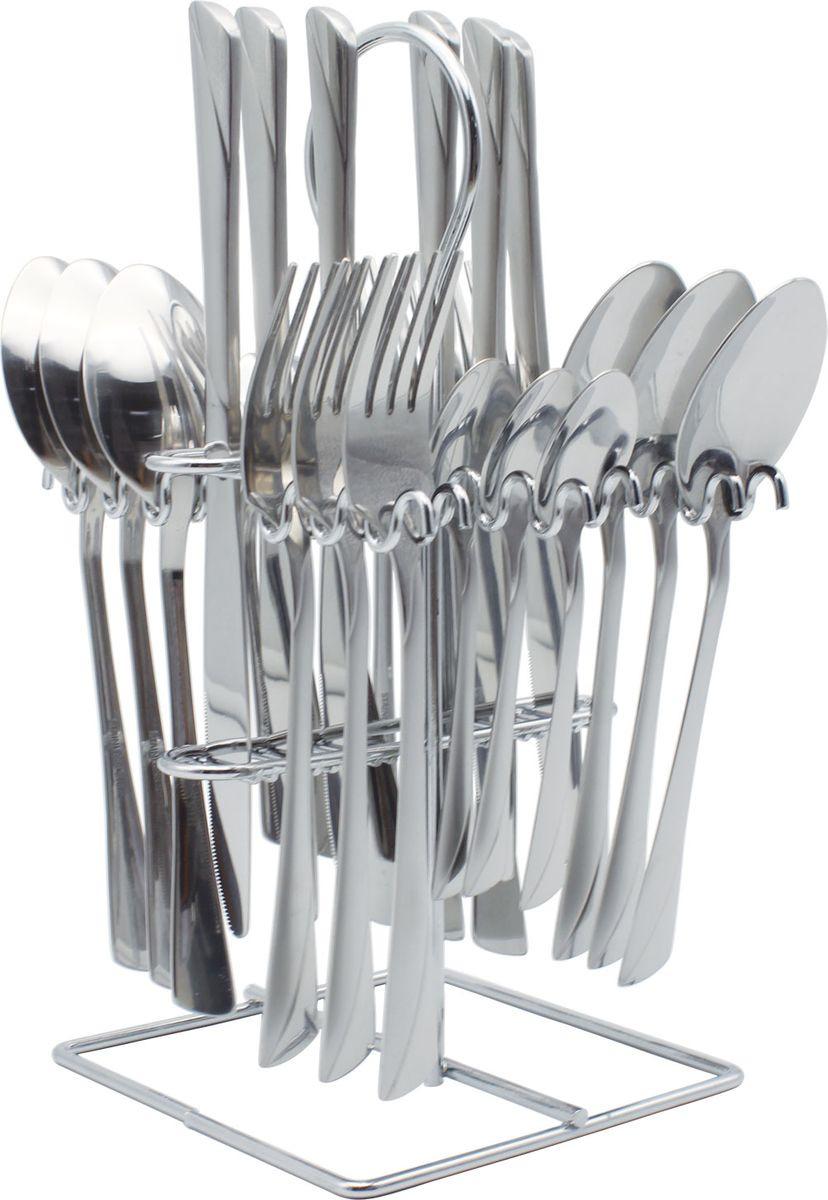 """Набор столовых приборов """"Bohmann"""", на подставке, 25 предметов. 5625BH/NEW"""