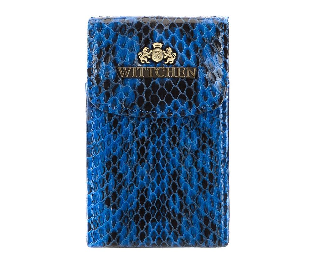 Визитница Wittchen 19-2-151, голубой цена