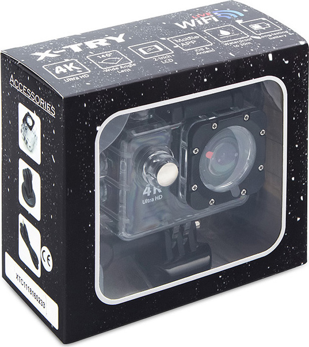 Экшн-камера X-Try XTC162 Neo 4K WiFi X-Try