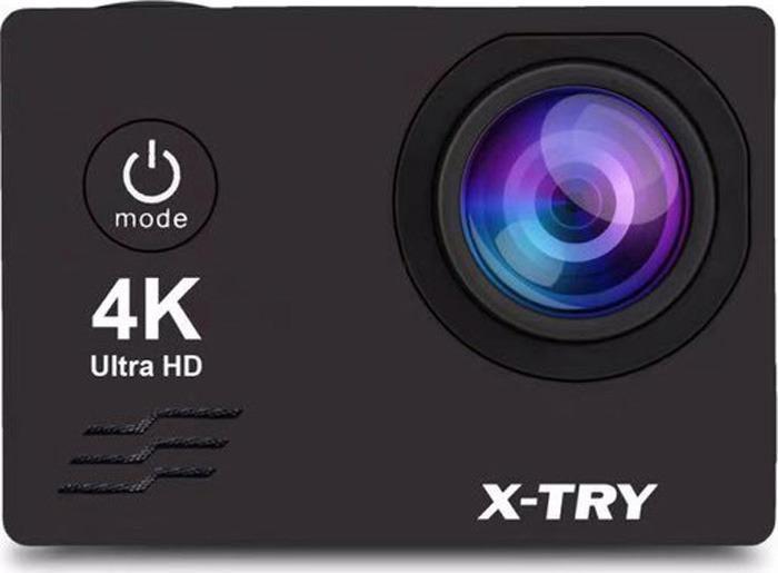 Экшн-камера X-Try XTC170 Neo 4K WiFi, черный экшн камера x try xtc170 neo 4k wifi
