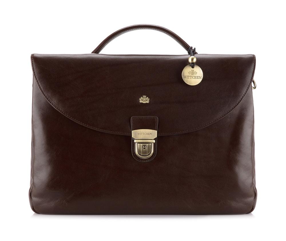 Портфель WITTCHEN портфель wittchen 39 3 104 39 3 104 3 коричневый
