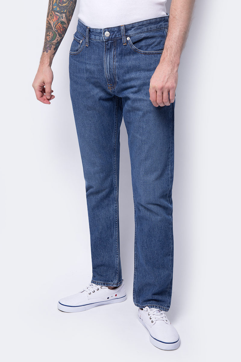 646edbdf15599 Джинсы женские calvin klein jeans цвет синий j20j208337_9113 размер ...