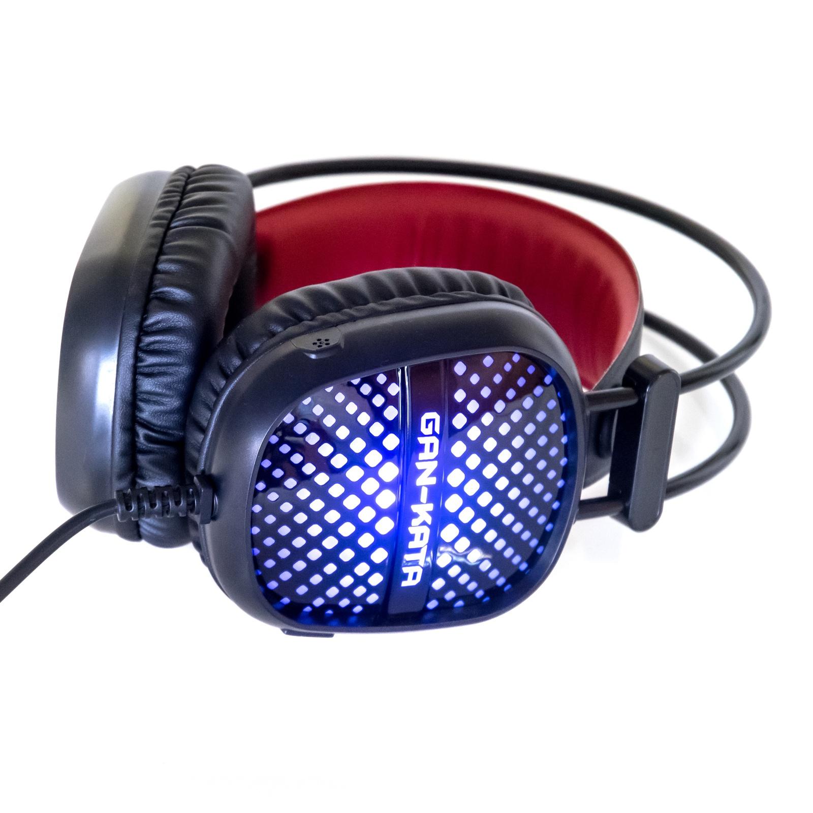 Игровые наушники DIALOG Gan-Kata HGK-20L, игровая, с подсветкой, с регулятором громкости цена и фото