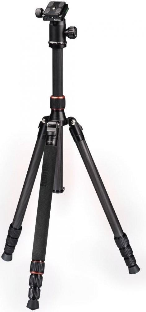 лучшая цена Штатив Hama Trekking Duo Carbon напольный, 00004462, black