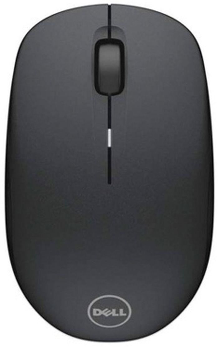 лучшая цена Мышь Dell WM126 оптическая 1000dpi беспроводная USB 3but, 570-AAMH, черный/Tattoo