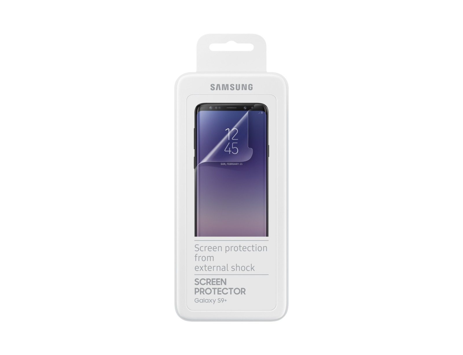 Защитная пленка Samsung ET-FG965CTEGRU для Samsung Galaxy S9+ прозрачная, 2 шт