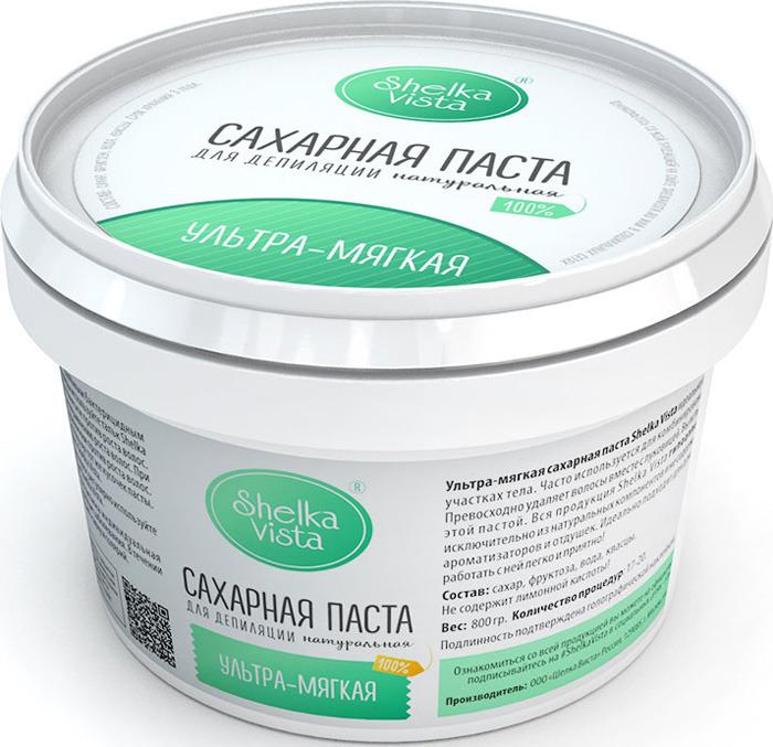 Shelka Vista Сахарная паста 800 гр ультра-мягкая паста
