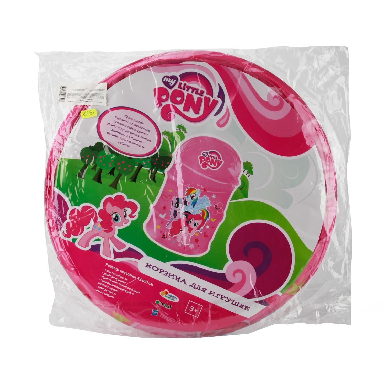 Корзина для игрушек Играем вместе My Little Pony, 179330 играем вместе мяч my little pony с рожками цвет розовый 45 см