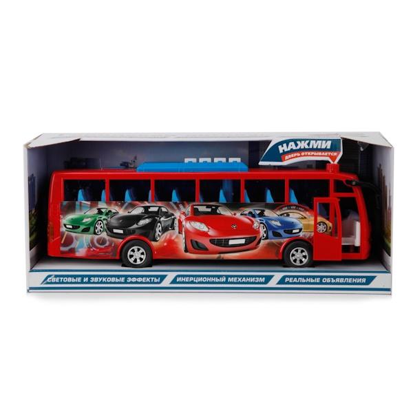 Автобус Играем вмеесте, инерционный, 192178 автобус наша игрушка автобус продавца голубой w034