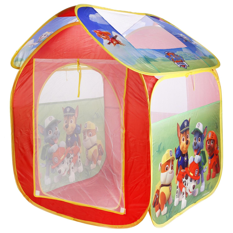 Палатка для игр Играем вместе Щенячий патруль, 249141 палатка для игр играем вместе мимимишки красный