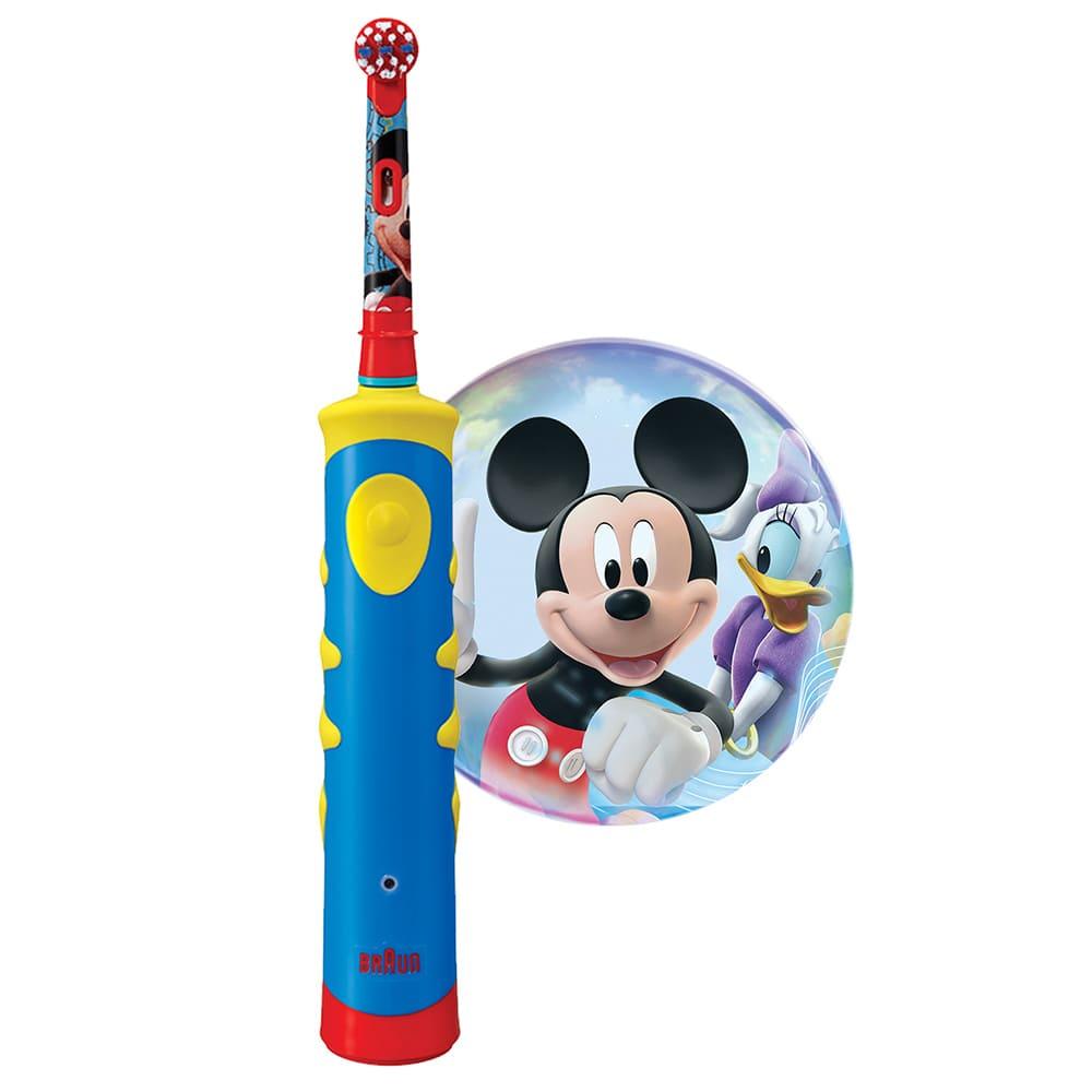 Детская электрическая зубная щетка Braun Oral-B Mickey Kids D10.513K, 80296411