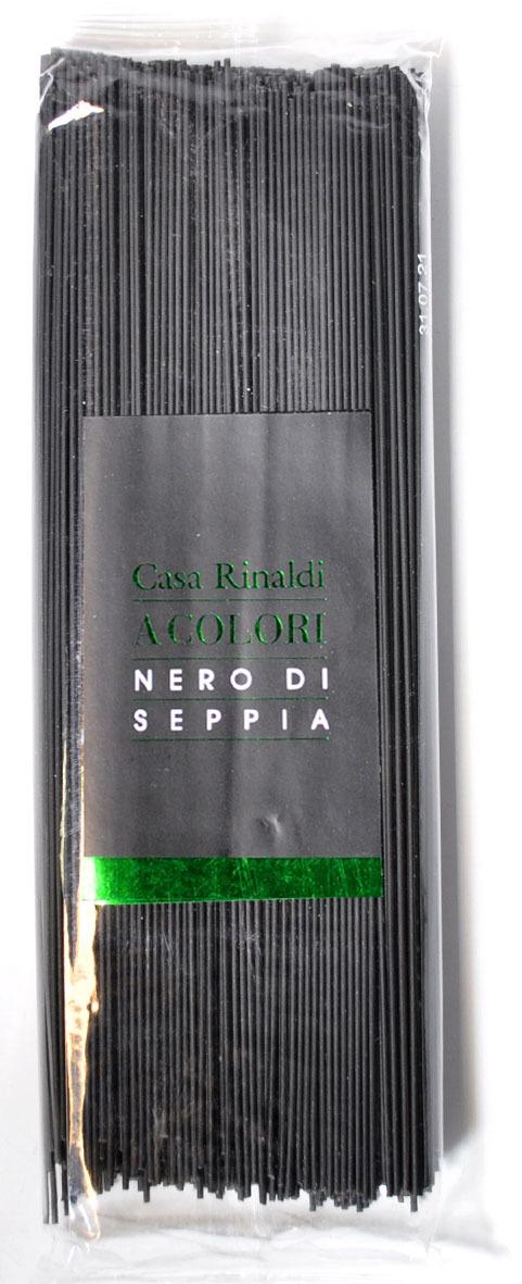 Casa Rinaldi Паста Спагетти с чернилами каракатицы, 500 г
