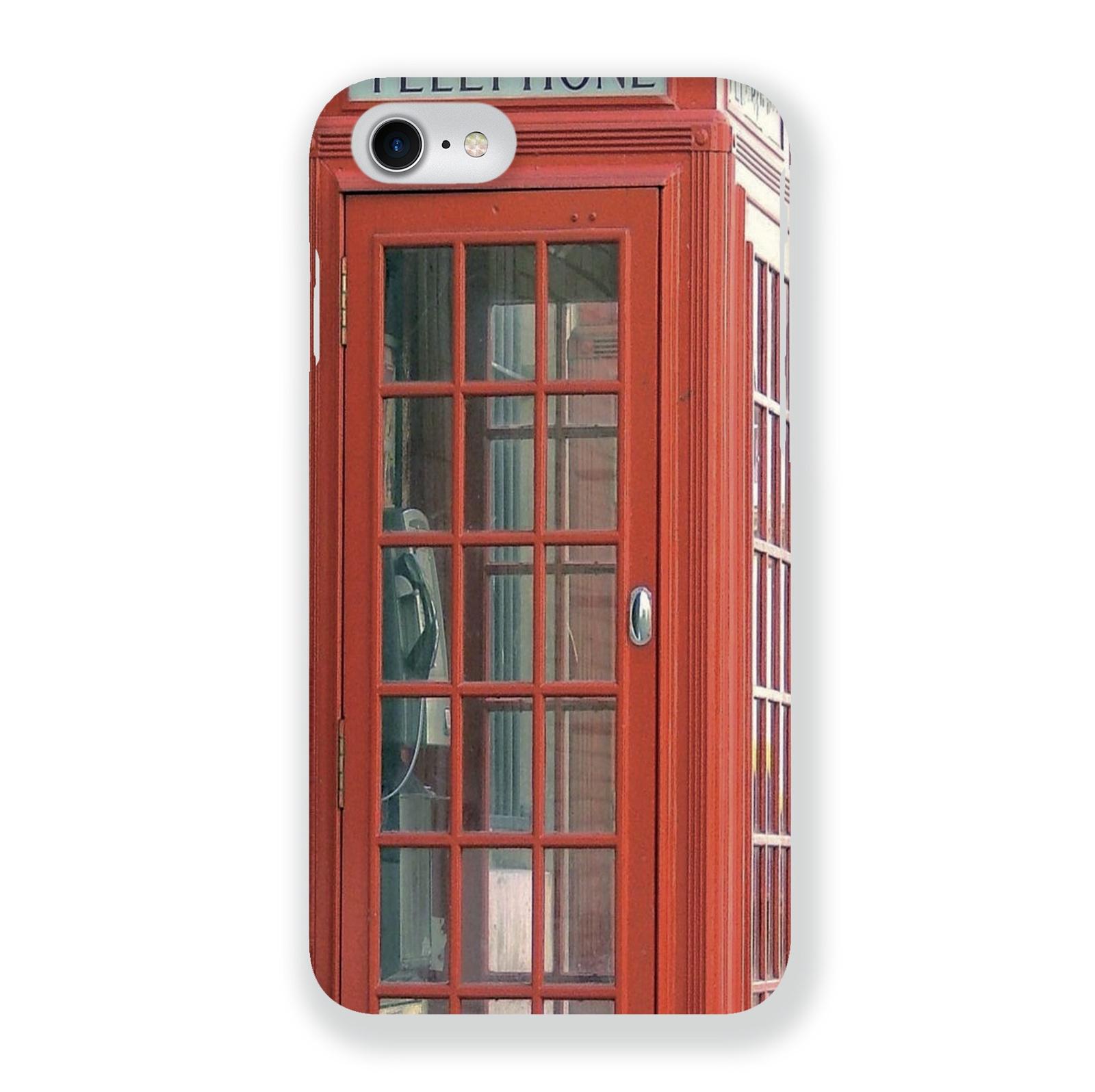 Чехол Mitya Veselkov Будка в Лондоне для Apple iPhone 7/8, IP7.-002, разноцветный