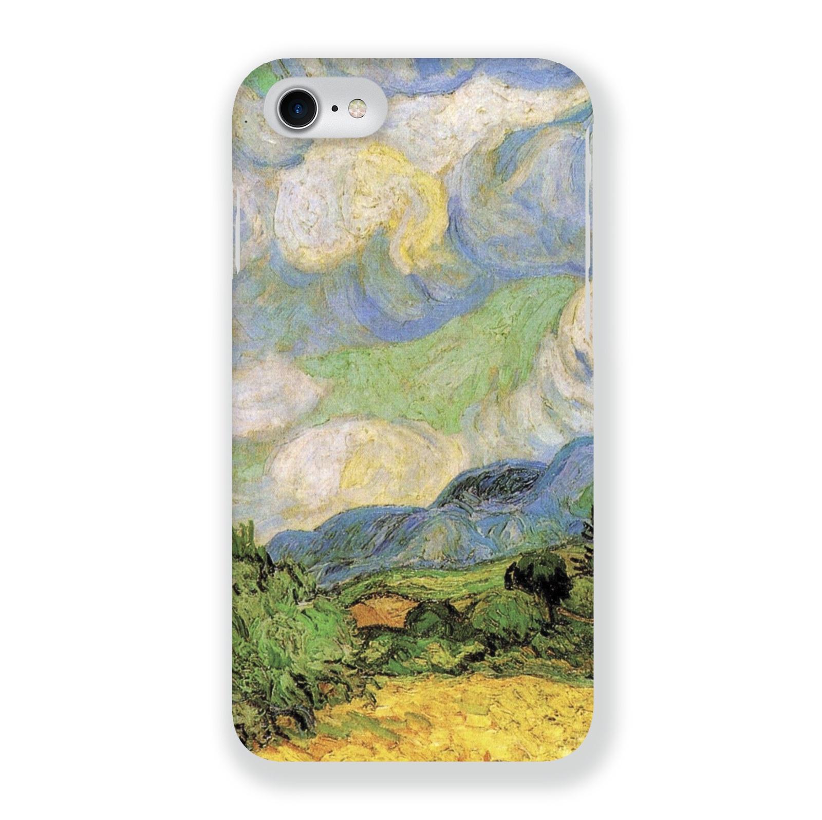 Чехол Mitya Veselkov Ван Гог Пшеничное Поле для Apple iPhone 7/8, IP7.MITYA-004, разноцветный чехол для iphone 5 mitya veselkov птички невелички