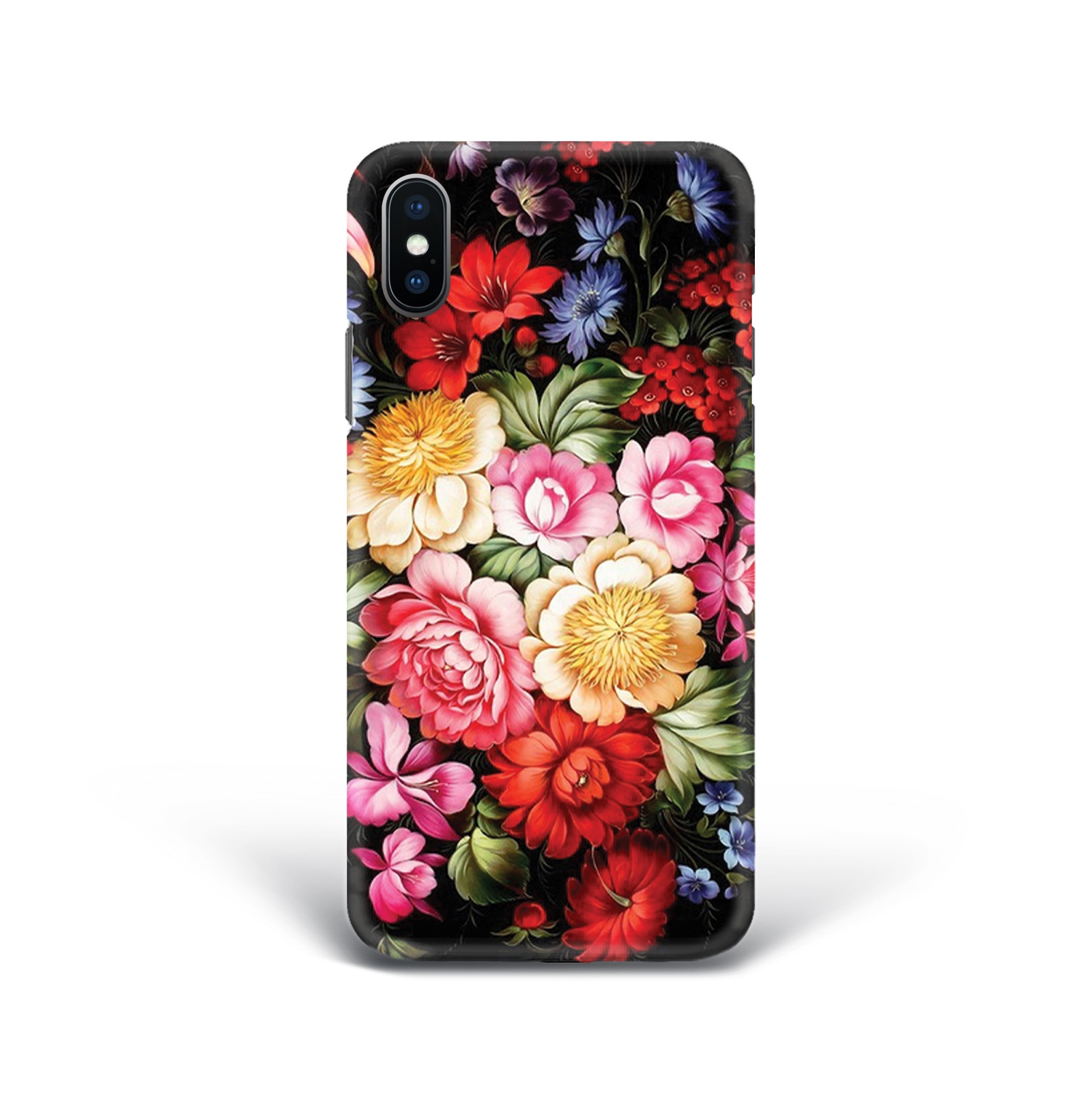 Чехол Mitya Veselkov Жостовский узор-1 для Apple iPhone X, IP10.MITYA-008, разноцветный чехол для iphone 6 mitya veselkov жостовский узор 1