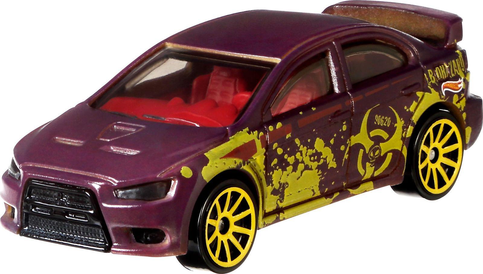 Машинка Hot Wheels Color Shifters Mitsubishi Lanser Evolution, BHR15_CFM40 hot wheels color shifters машинка what 4 2