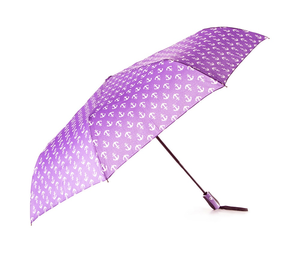 Зонт Wittchen PA-7-162-X3, цвет бело - фиолетовыйPA-7-162-X3Зонт