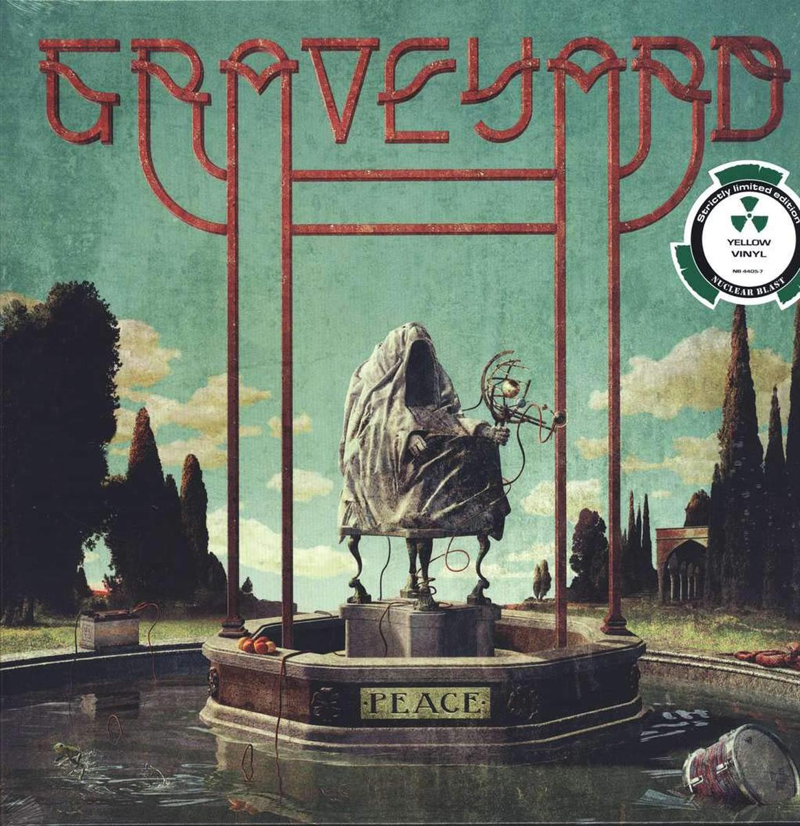 Graveyard Graveyard. Peace (LP) велозамок m wave 10х1800 мм с ключом с креплением за подседельный штырь цвет зеленый