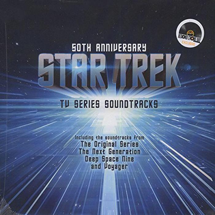 Star Trek. 50 Anniversary - TV Series Soundtrack (2 LP) алехандер куредж star trek the cage where no man gone before original television soundtrack