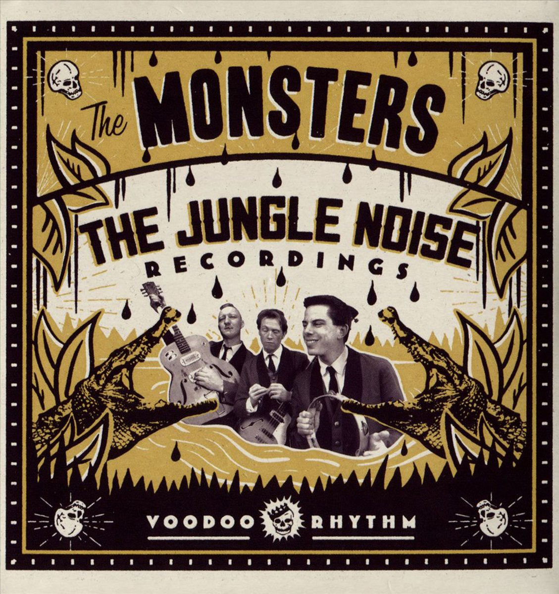 The Monsters The Monsters. The Jungle Noise Recordings sticky monsters