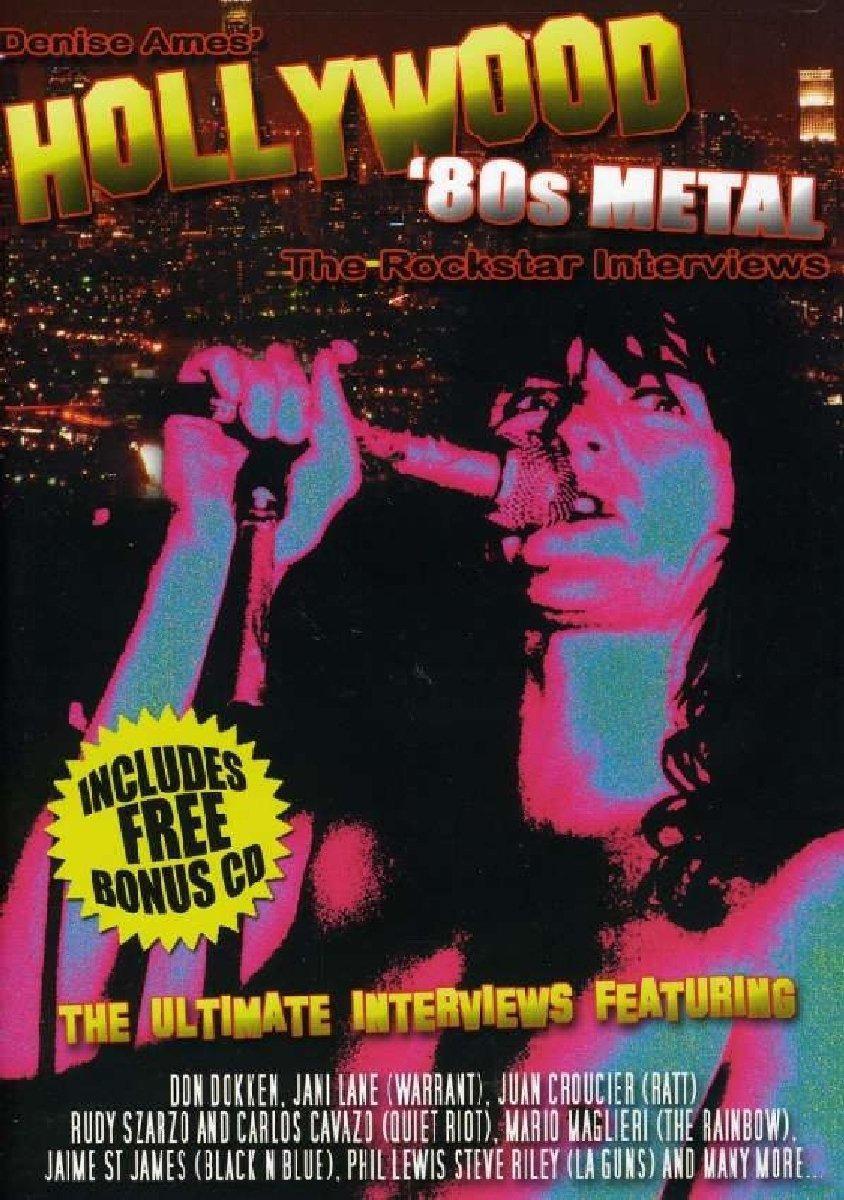 80s Metal Rockstar Interviews (CD + DVD) gidroforce atjet 80s