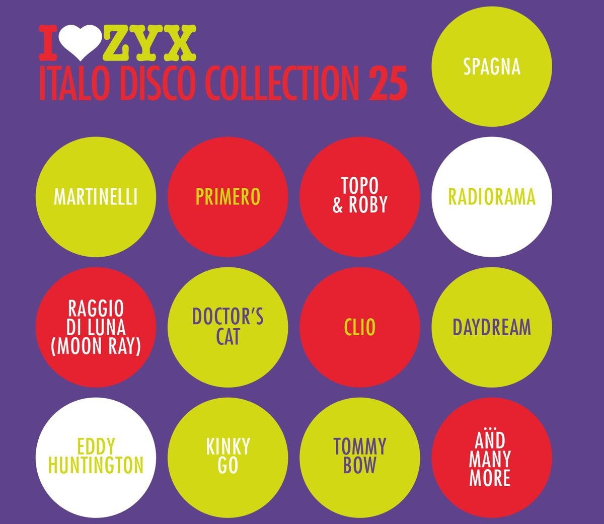 Zyx Italo Disco Collection Volume 25 (3 CD) italo disco collection 13 3 cd