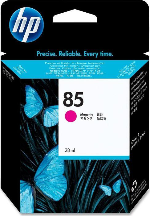 Картридж струйный HP №85 C9426A пурпурный (28мл) для HP DJ 30/90/130 hp 85 c9420a blue