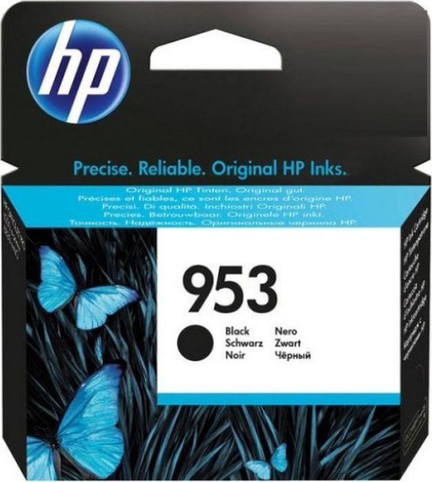 Картридж HP 953, черный, для струйного принтера, оригинал hp c9502ae 56 black струйный картридж