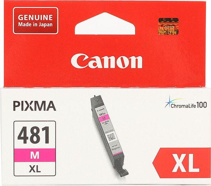 Картридж Canon CLI-481XL для Canon Pixma TS6140/TS8140TS/TS9140/TR7540/TR8540, 1010549, Magenta картридж canon cli 481xl m пурпурный [2045c001]