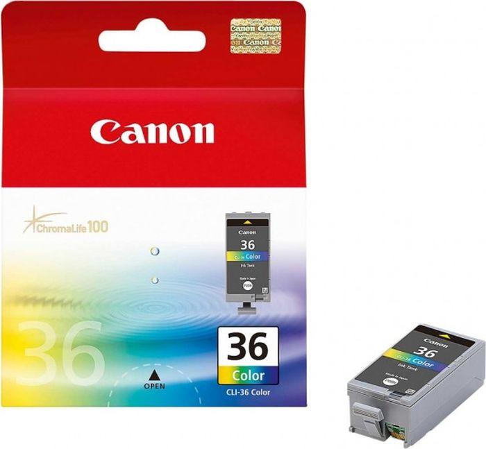 Картридж Canon CLI-36, для струйного принтера, оригинал