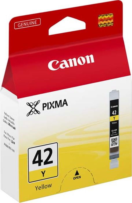 Картридж Canon CLI-42Y для Canon PRO-100, 806129, Yellow
