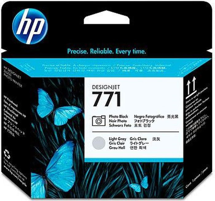 Картридж струйный HP CE020A для HP DesignJet Z6200, Black, Light Grey цены