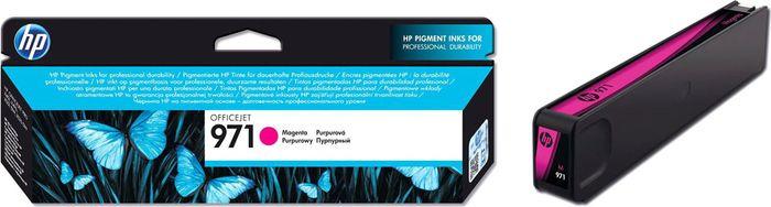 Картридж HP 971 (CN623AE), пурпурный цена и фото