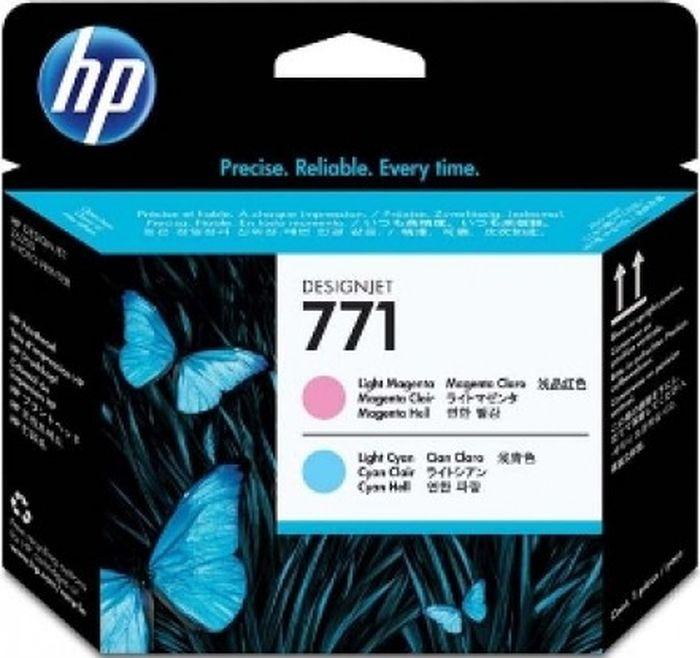 Печатающая головка HP 771 (CE019A), светло-пурпурный, светло-голубой цена